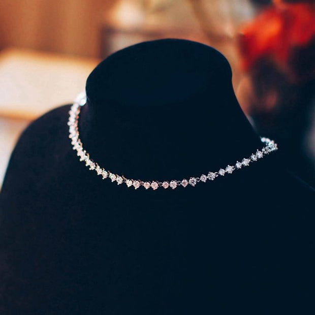 Bride simple necklace evening dress wedding accessories