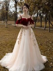 WEDDING DRESS 2020 new bride wedding toast dress is super fairy double-shouldered Princess Temperament Queen