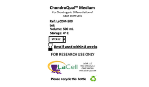 ChondroQual™ - Chondrogenic Differentiation Medium