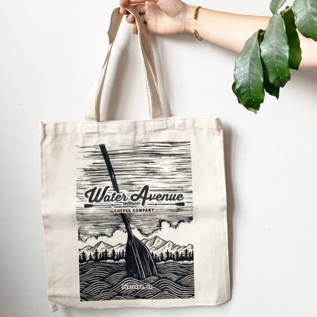 Water Avenue Tote Bag