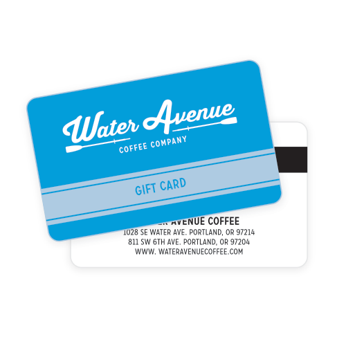 Water Avenue Coffee Gift Card
