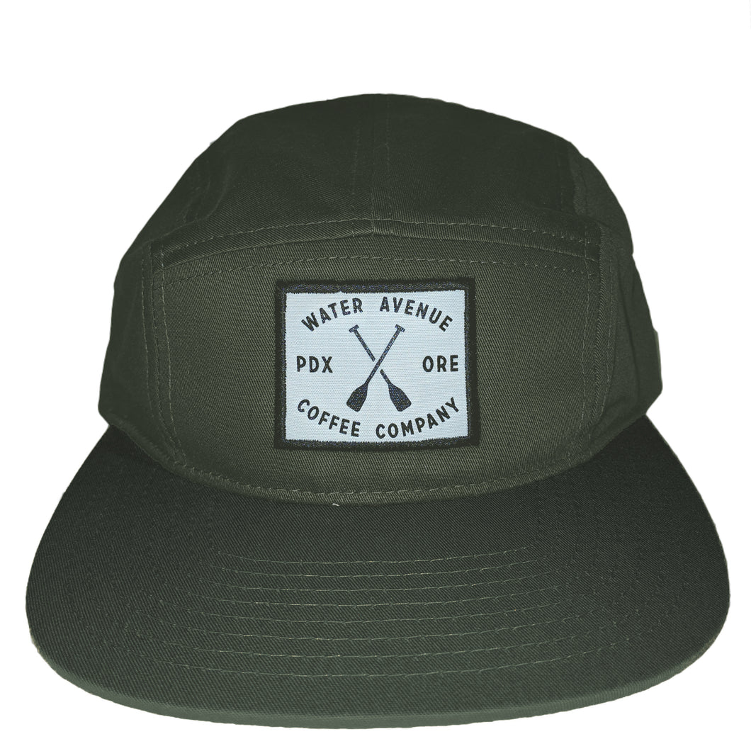 Water Avenue Coffee Flat Bill Hat