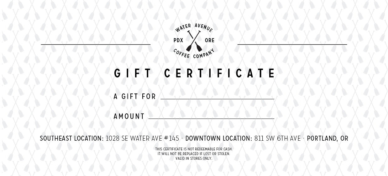 Retail Gift Certificate *In-Store Use Only*
