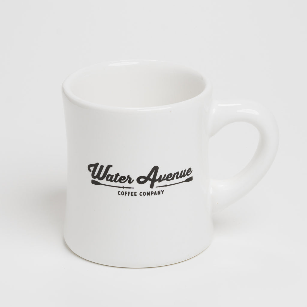 Water Avenue Coffee Diner Mug