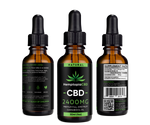CBD Oil Tincture Drops 30mL Natural 2400mg - HemptopiaCBD