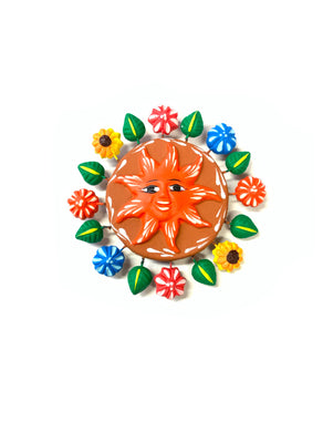 Sun magnet (orange)