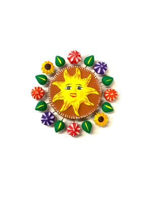 Sun magnet (yellow)