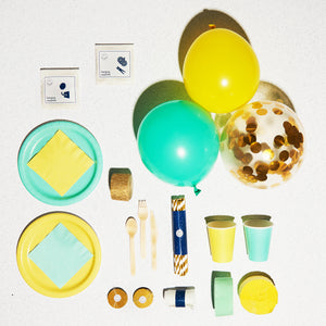 Next Saturday Party Box - Sustainable Party Supplies