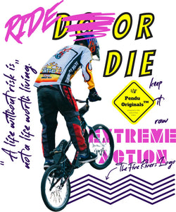 Ride Or Die Extreme Action H/S T-Shirt