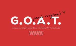 G.O.A.T (Greatest of All Time) H/S T-Shirt