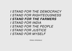 I Stand For Farmers H/S T-Shirt
