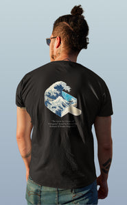 The Great Ice Cream Off Kanagawa By Katsushika Hokusai X Pendu Originals H/S T-Shirt