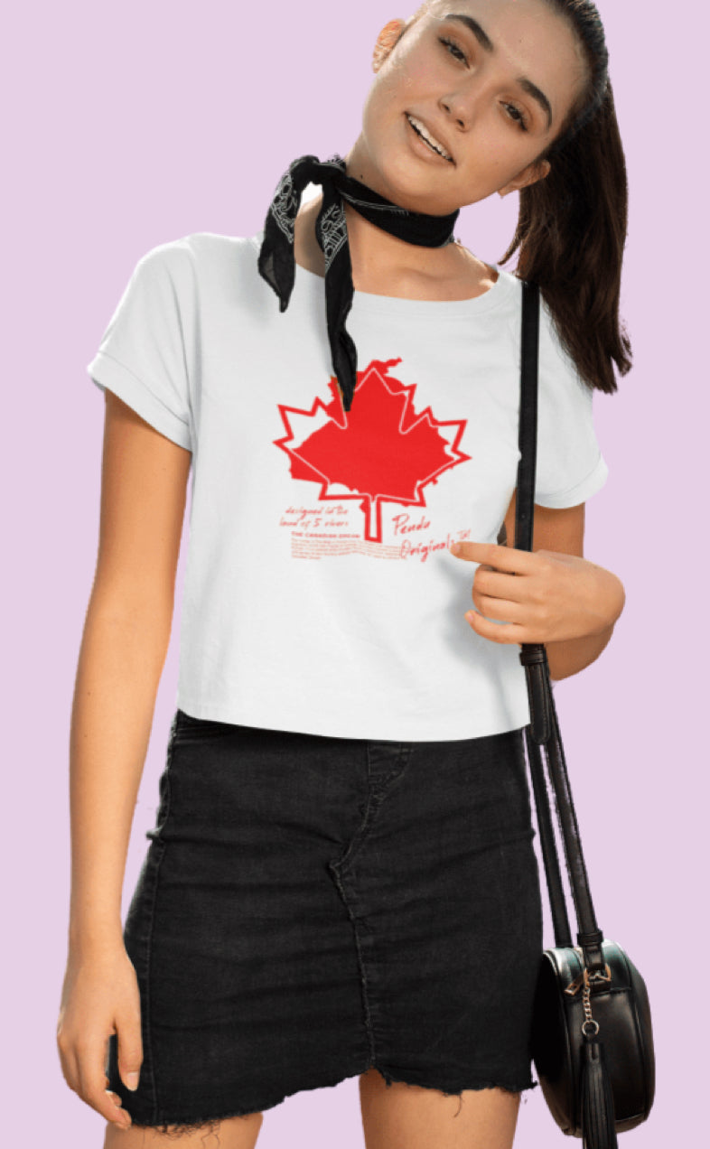 The Canadian Dream Crop Top