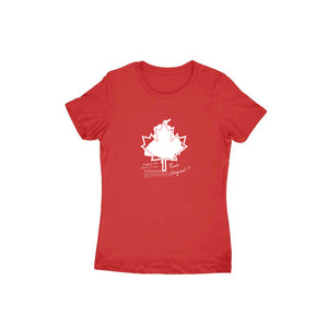 The Canadian Dream H/S T-Shirt for Women
