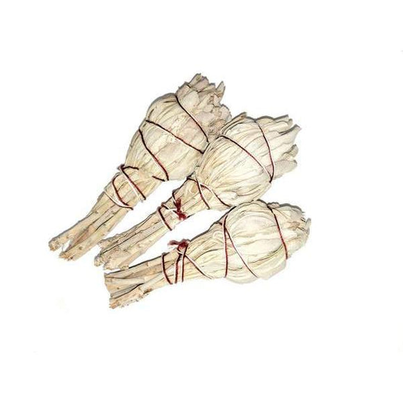 Small Sage Smudge Bulb Stick