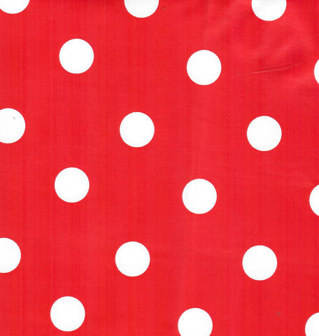 1873 DOTS by the yard - vinyl sheeting 54 inch wide