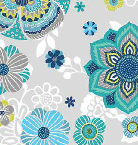 4303 Dalima Blue - by the piece -30 x 60