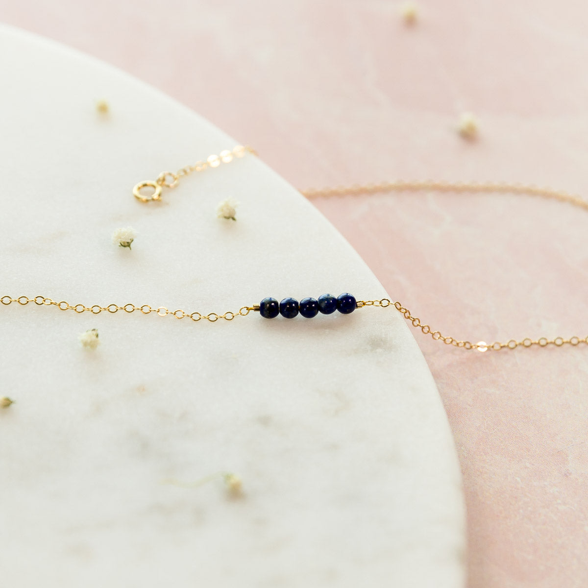 Lapis Lazuli Jewelry, Lapis Anklet, Lapis Lazuli Ankle Bracelet, Crystal Anklet, Healing Crystal Jewelry, December Birthstone Gift For Her, Dainty Celestial  Ankle Bracelet, Minimal Anklet, Bohemian, Gemstone Crystal Anklet, Summer Accessories, Liz.Beth Jewelry Co.