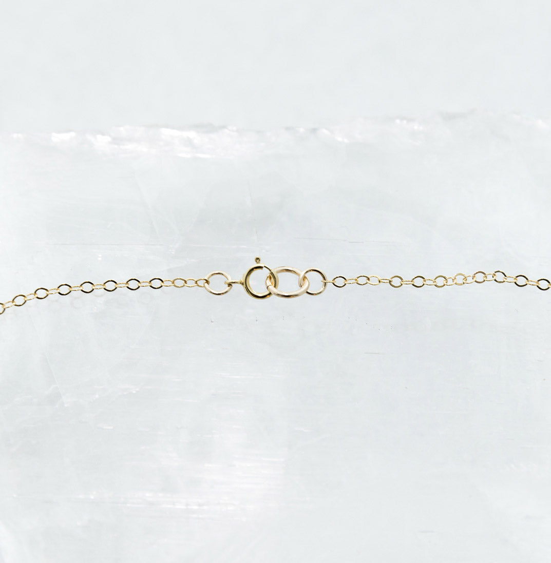 Delicate Freshwater Pearls Bar Necklace On Gold Or Silver Chain