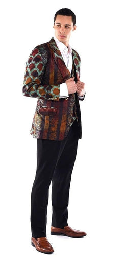 The Green Batik - Blazer Suit Set