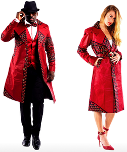 The Red Daru - Trench Jacket
