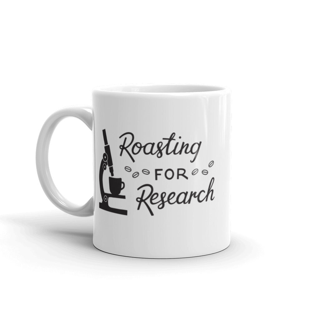 Ceramic Mug [Roasting For Research]