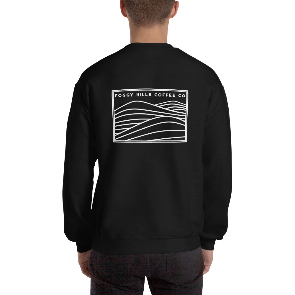 Logo Crewneck Sweatshirt [black/blue]