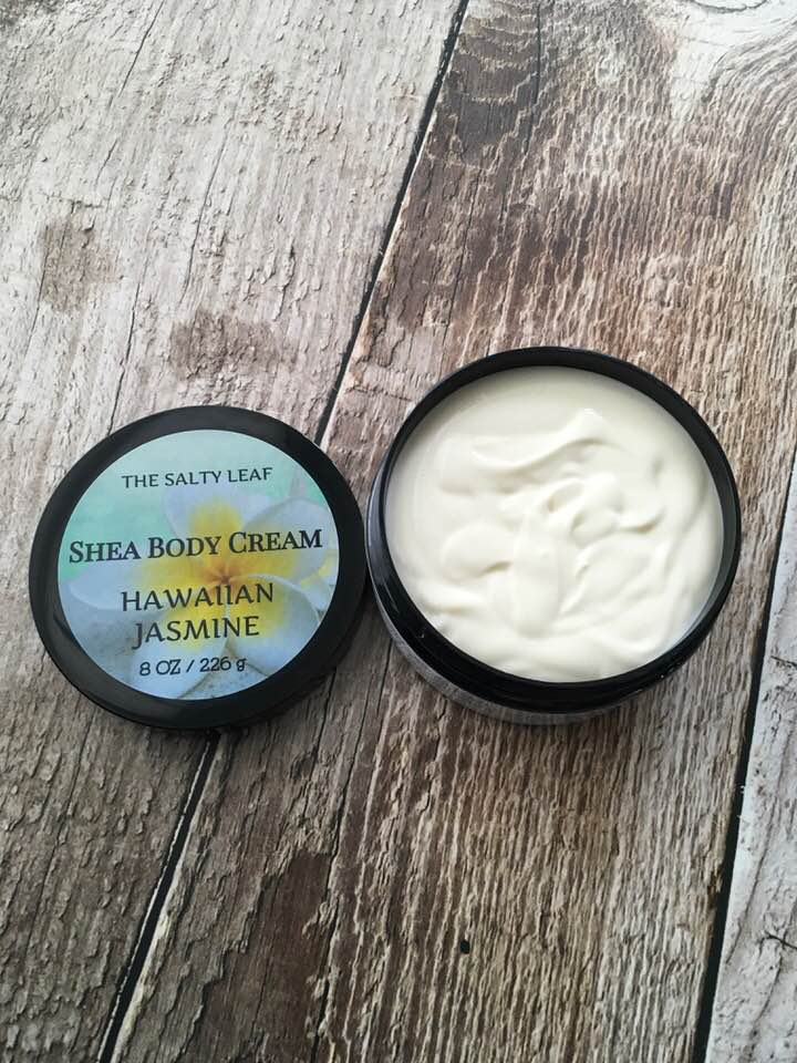 Hawaiian Jasmine Shea Body Cream