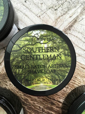 Southern Gentleman Artisan Shave Soap