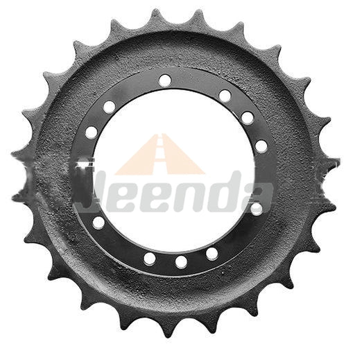 Free Shipping Sprocket 1032265 01010.32265 08118030 1010.32265 22L-27-21110 for Hitachi ZX27U-2 ZX30U-2 Komatsu PC35MR-2 John Deere 27D 30G 35D 35G
