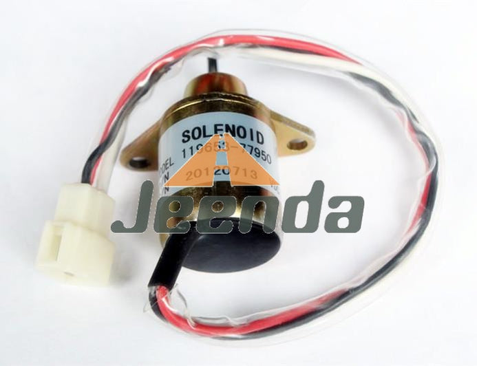 Stop solenoid 119653-66500 for Yanmar 3TNE74 3TNE68 Engine