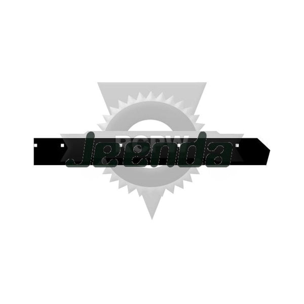 "90"" V-Plow Half Cutting Edge BAX00097 for BOSS"