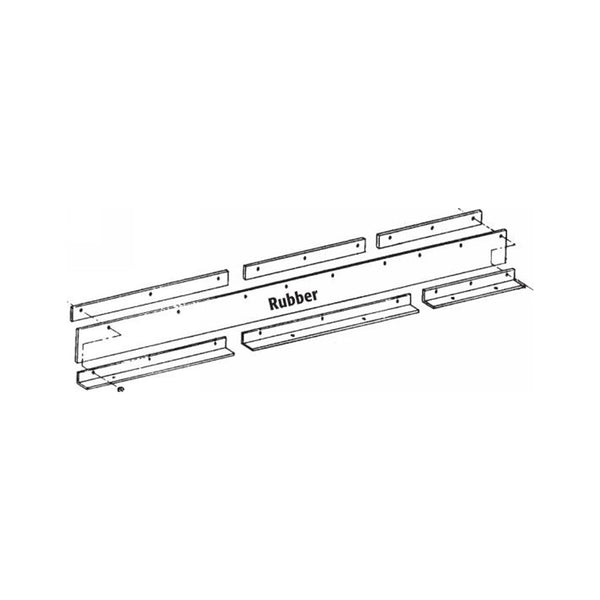 Universal Snow Deflector ST-78/90 with Mounting Kit 12896-7 for DIAMOND