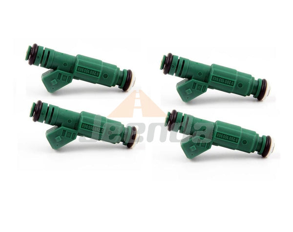 Free Shipping 4PCS Fuel Injector 0280155968 for Bosch Chevrolet Pontiac Ford TBI LT1 LS1 LS6 Volvo S40 60 V50