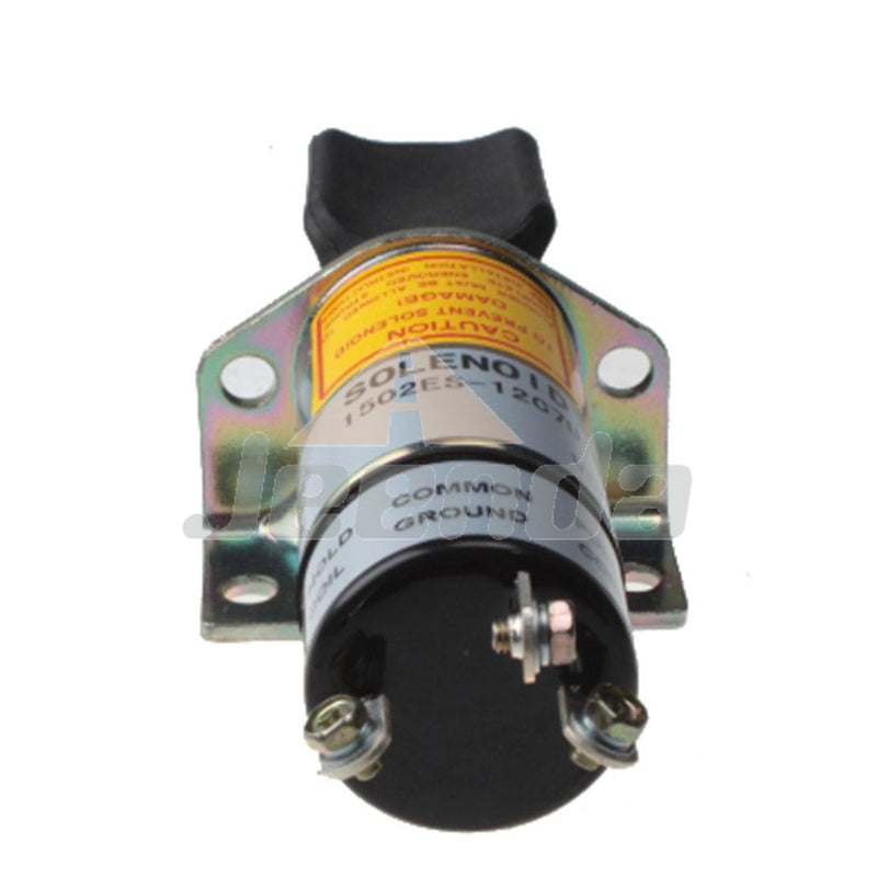 Jeenda Diesel Stop Solenoid 1500-1000 1502ES-12C7U1B1 ES1502C-12V T20  with 3 Terminals for Woodward 1500 Series 12V
