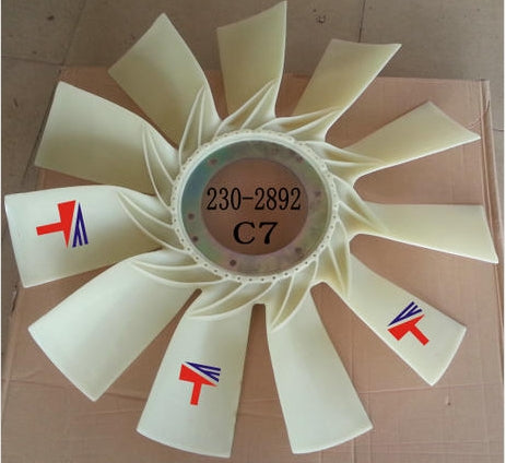 JEENDA Fan 230-2892 2302892 Compatible with Caterpillar Excavator 329 330 325 320 323 324 325 326 328 329