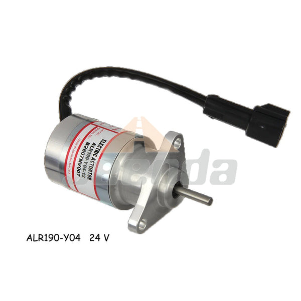 GAC ALR190-Y04-24 Integrated Engine Mounted Actuators Packard Connector for Yanmar 3TNV88 4TNV84 Isuzu 2CA