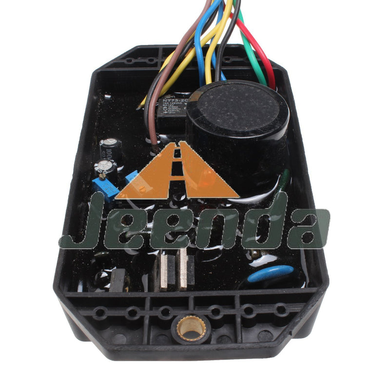 Free Shipping Automatic Voltage Regulator KI-DAVR-50S AVR 10 Wires for Kipor Generator 1 phase 5KW