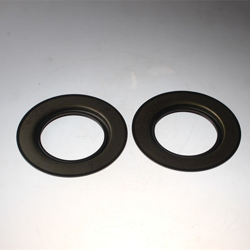 2 Pcs Rear Oil Seal 050209083 for Perkins CAT 404D-22 404D-22T