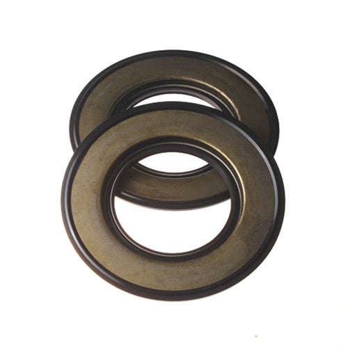2 Pcs Rear Oil Seal 198636170 for Perkins CAT 156-6973 403D-15 403D-15T 403C-15