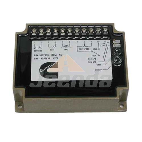 Speed Controller EFC 3037359 for Cummins Generator