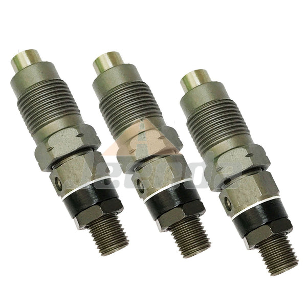 3PCS Fuel Injector 16001-53002 16871-53000 16001-53000 H1600-53000 16001-53904 for Kubota D722 Engine