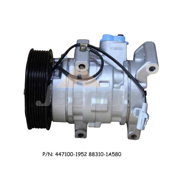 Free Shipping Compressor 447100-1952 88310-1A580 for Toyota Corolla 2007-2016 1.33 1.4 D-4D