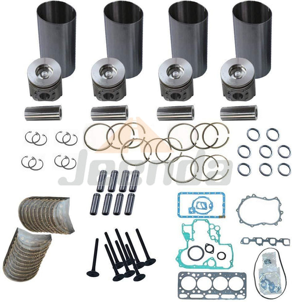 Rebuild Kit 4D84E-2 4D84-2A 4D84-2B 4D84-2GA YM729432-92600 for PC40-7 PC45-1 PC50UU-2 Yanmar B6 Mini Excavator Digger and Wheel Loader