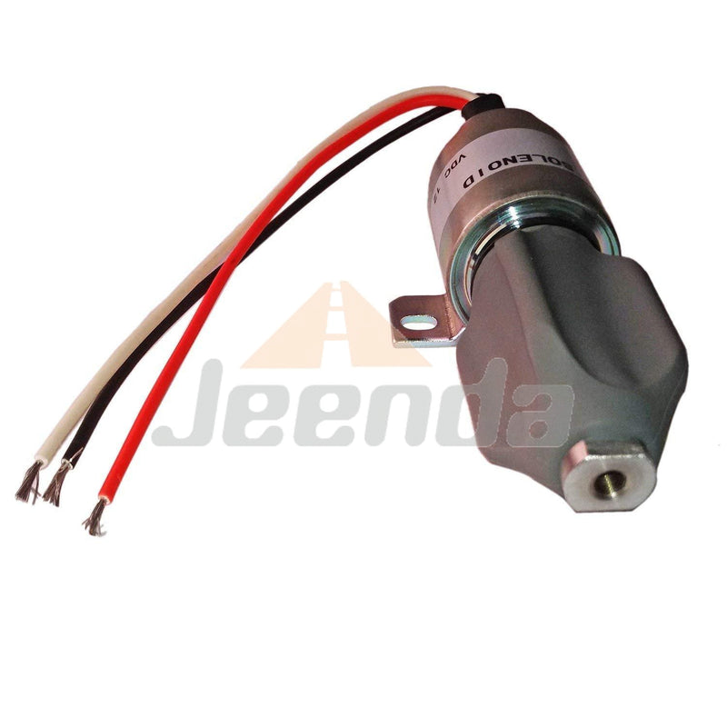 Free Shipping Diesel Stop Solenoid SA-4994-12 1757ES-12E8ULB1S5 1757ES-12E8ULB155 12V with 3 Wires for Woodward 1700 Series