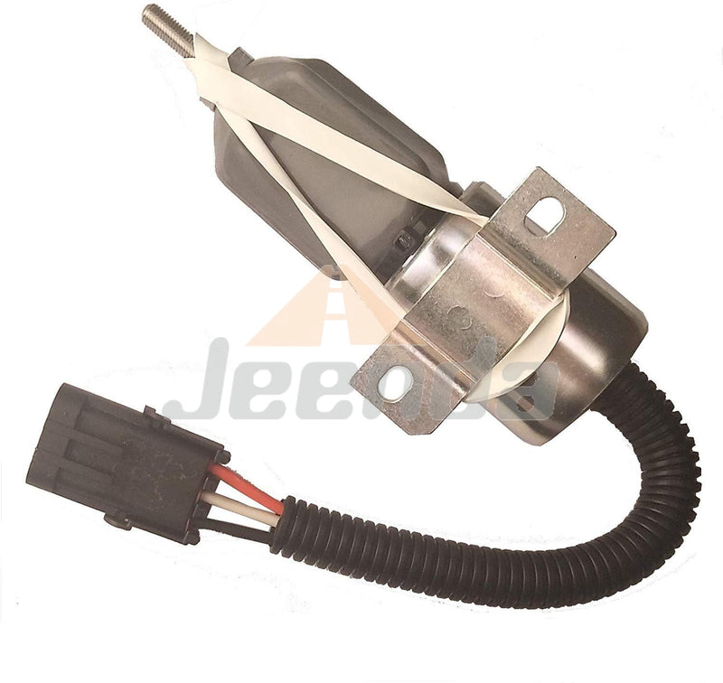 Free Shipping Diesel Stop Solenoid 1700-1508 1751ES-12E2UC3B1S1 12V for Woodward 1700 Series