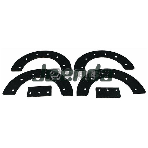 Snowthrower Paddle Set 302565MA for MURRAY