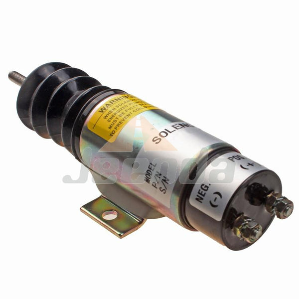Free Shipping Stop Solenoid D610-B1V12 12V with 2 Terminals for Trombetta Kubota D905 Engine