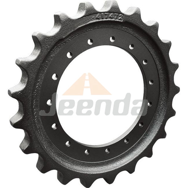 Free Shipping Sprocket 4I7472 for CAT Caterpillar E311 E110B E312 311C 311D LRR 312 312B 312B L 312C 312C