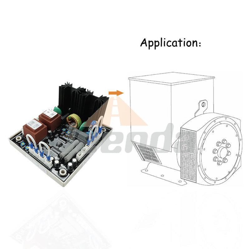 Free Shipping Automatic Voltage Regulator AVR EA63-7D AVC63-7D
